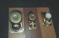 """Monitorki A4 eksperyment z różnymi głośnikami ze """"śmieci"""""""