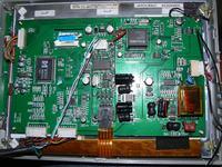 monitor tm-868 upalony układ jaki?? upalony układ przy inwerterze