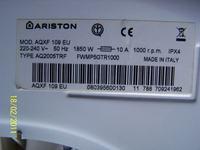 PRALKA Aiston AQXF 109 EU Moduł zepsuty