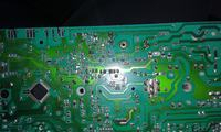 Pralka Bosch WOT26352BY - prosz� o identyfikacj� uszkodzonyh rezystor�w R72 i R7