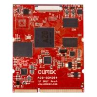 Olimex A20-SOM204 - uniwersalny moduł COM z Allwinner A20 i złączem SO-DIMM