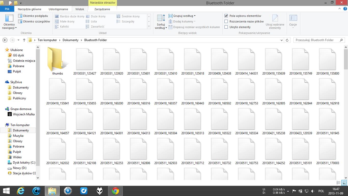 Windows 8.1 x64 miniatury obraz�w nie s� wy�wietlane/w�. folder�w r�wnie�.