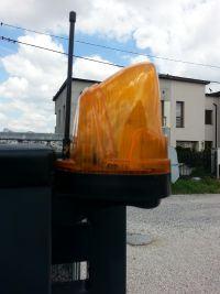 jak wymienić żarówke lampy sygnalizacji bramy wjazdowej