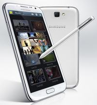 Samsung Galaxy Note II z 5.5-calowym Super AMOLED, Androidem 4.1 + wideo
