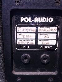 [Sprzedam]Zestaw nagłośnieniowy Pol Audio, głośniki McCauley i EVM, horny i inne