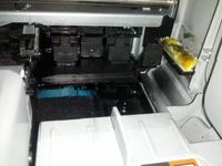HP Photosmart C3180 - Poziome puste linie przy druku i dziwne rzeczy w drukarce