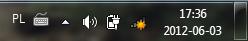 Czerwony krzyżyk przy ikonie z dostępem do internetu