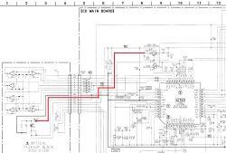 Sony CFD380L Traci Pamięć, wymiary pasków TAPE/CD