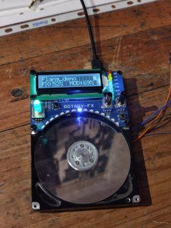 [Prototyp] RotaryFX - drugie (bardziej muzyczne) życie dysku HDD