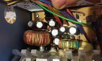 ENLIGHT 400W-po wymianie kondensatorów wywala korki.