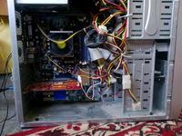 Komputer się nie włącza - działa wentylator, diody - ekran czarny.