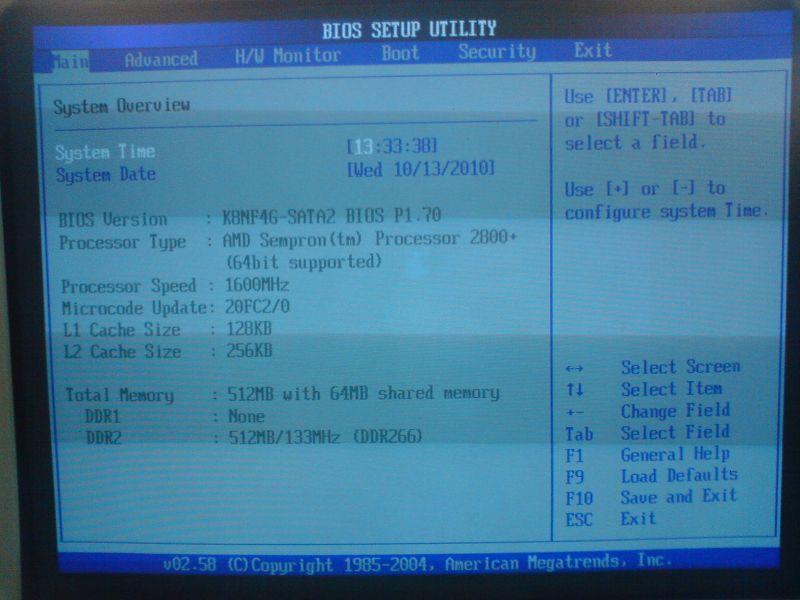 D�ugie w��czanie si� komputera przed za�adowaniem systemu