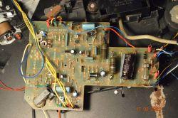 Gramofon Unitra Bernard GS-438 - silnik -kilka obrotów i stop!