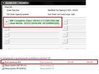 AlcorMicro - Pendrive 1GB widziany jako 2 dyski - po flash'u ma tylko 500MB