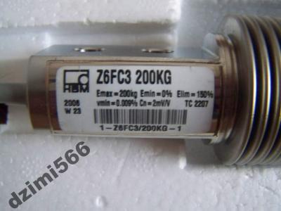 [Sprzedam] posiadam  nowy -tensometr wagowy tensometryczny Z6FC3 200Kg