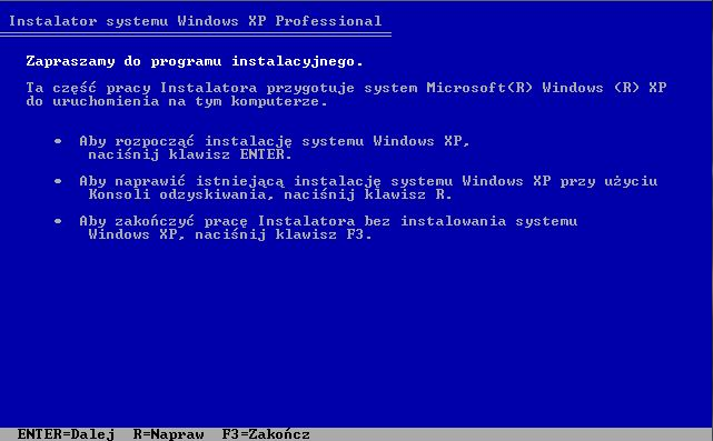 Windows XP - unmountable_boot_volume
