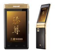 Samsung W899 telefon z 2 ekranami AMOLED i Android'em