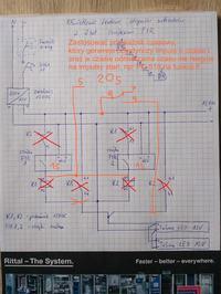 Oświetlenie schodów z dwoma czujnikami ruchu - poprawność schematu