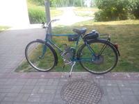 Silnik spalinowy w rowerze