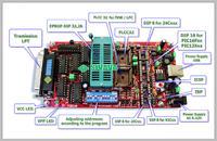 AT25080 - Programator Willem połączenie ISP