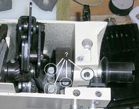 Wymiana zębatki w maszynie do szycia Łucznik 451