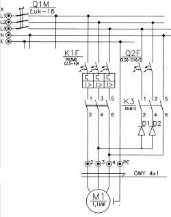 Hamowanie DC silnika asynchronicznego