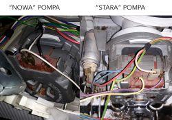 Zmywarka Siemens SE54M551EU - zamiana pompy myjącej z innego modelu