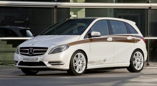Mercedes-Benz przedstawia koncept hybrydy B-Class E-Cell Plus