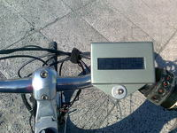 Silnik Sanyo Dynamotor i kontroler YK87 w rowerze.