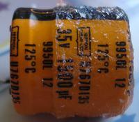 [Kupię] Poszukuję nietypowego kondensatora 1500uF 35V 125°C lub zamiennika