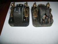 Lodówko zamrażarka Vestfrost KF 355 - spalony element nasadzony na kompresorze.