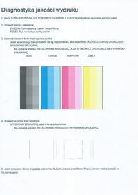 HP Photosmart 5520 - nieprawidłowe kolory, pasy na wydrukach foto