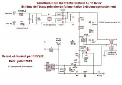 Bosch AL 1115 CV - Uszkodzona ładowarka