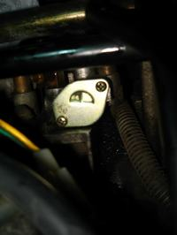 Malaguti Ciak 100 cc - silnik 2T dymi do dłuższym postoju (nawet po 3-4 dniach)