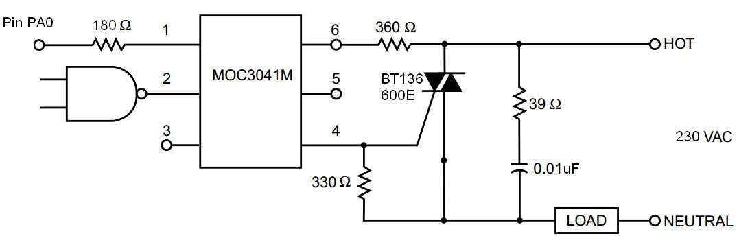 Sterowanie silnika 1 fazowego indukcyjnego z dodatkowa cewka i kondensatorem