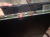 Samsung 203B - Naprawa taśmy w monitorze LCD