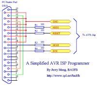 Aktualizacja firmware USBasp przez LPT