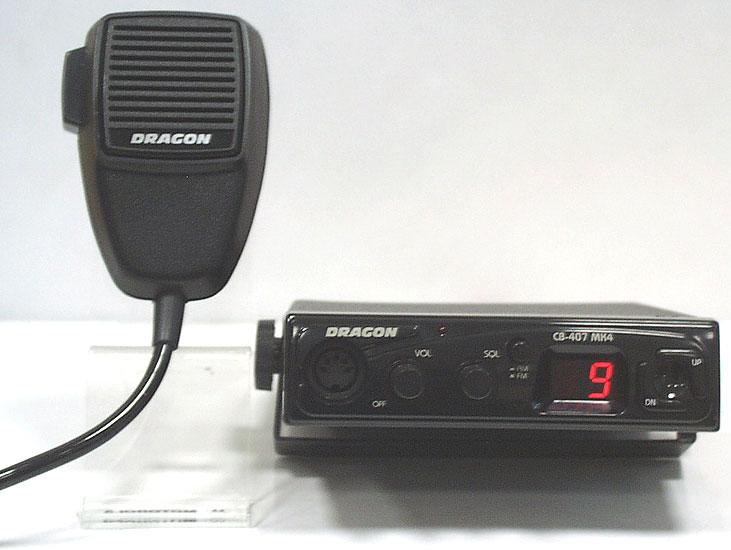 Dragon CB407 MK4 - Brak schamatu, dzwi�ku i pod��czenia mikrofonu