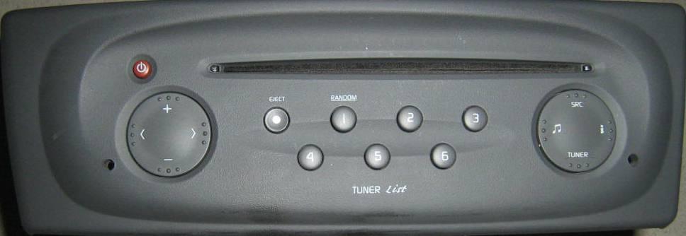 Tuner List Renault Scenic - pod��czenie telefonu do wolnego zl�cza