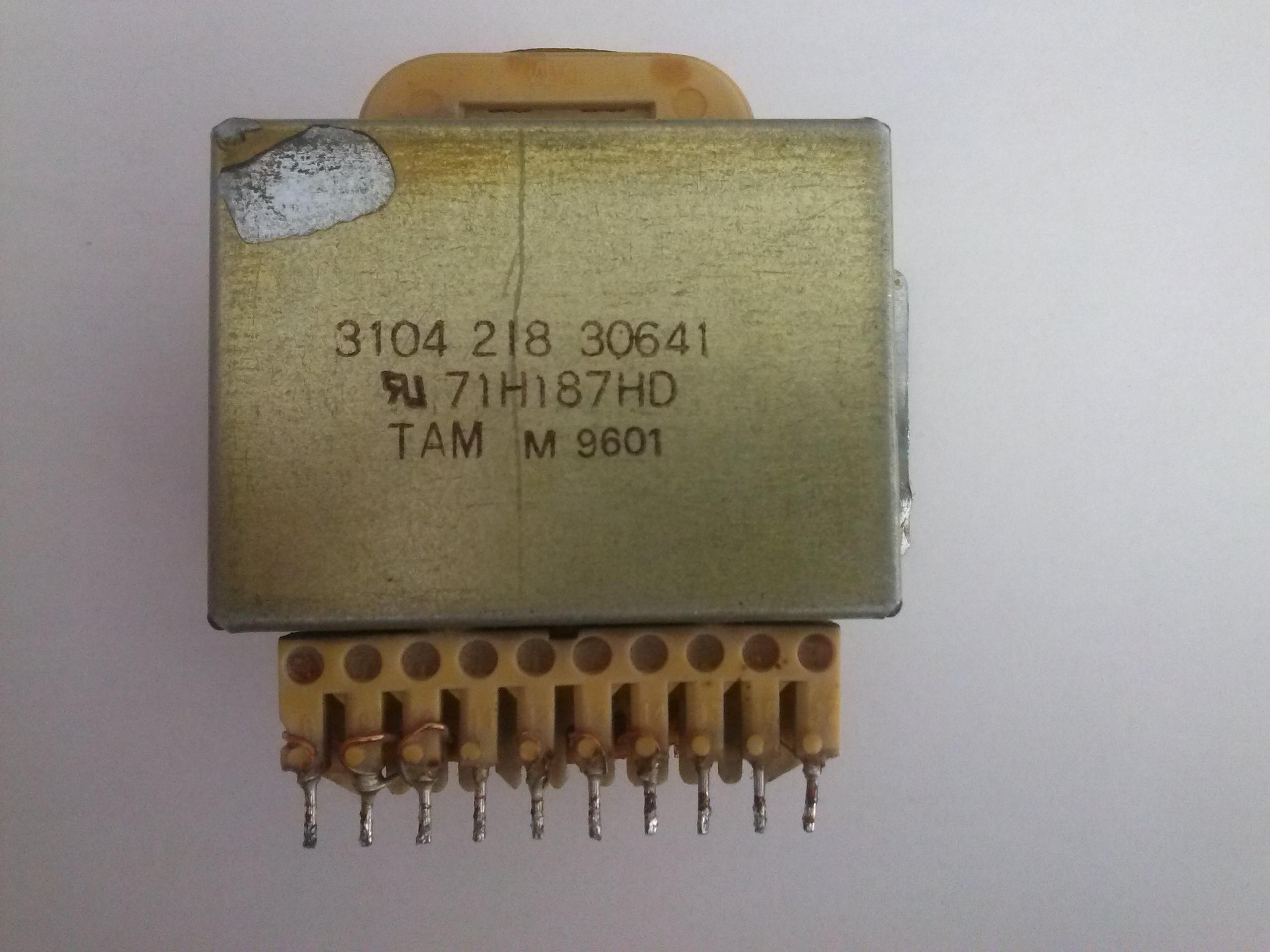 Transformator sieciowy z demonta�u-jak go wykorzysta�