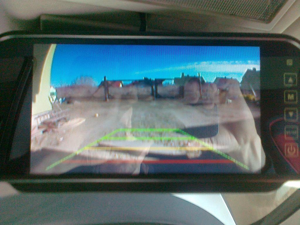 seat - obraz z kamery cofania