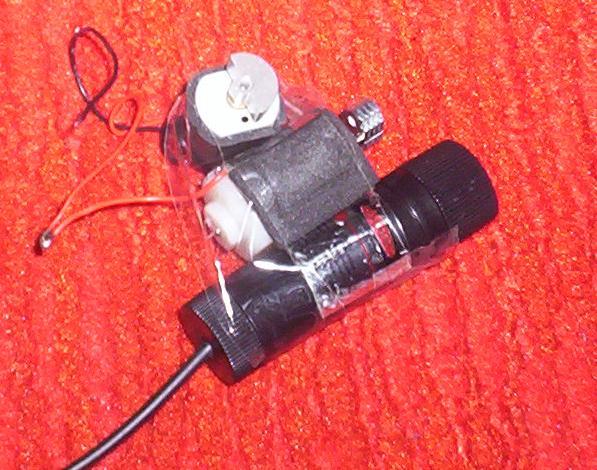 Mój projektor laserowy