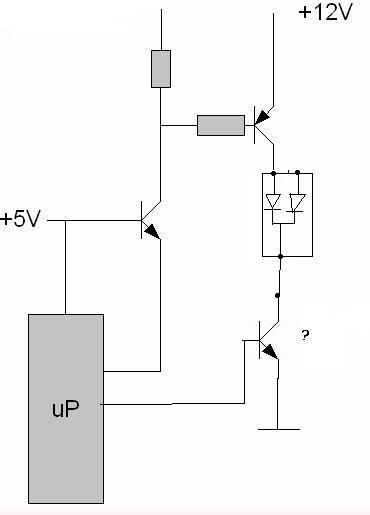 Wyświetlacz LED ze wspólną katodą.
