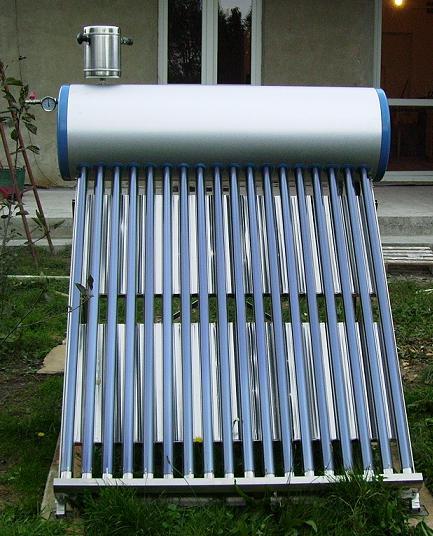 Solary próżniowe - sposób wpięcia się do CWU