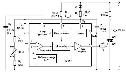 Sterowanie grzałką dużej mocy za pomocą mikroprocesora