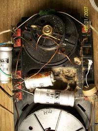 Zwrotnica tonsil, jakie kondensatory? Jak podłączyć?