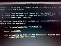 Windows Seven i błąd: 0xc000035a przy próbie instalacji