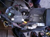Jawa Robby 50 - podłączenie akumulatorów