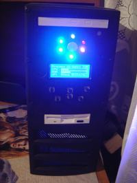 Modding obudowy+RGB+LCD+RC5