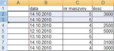 vba excell - kopiowanie zaznaczonych rekordów